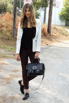 Zara blazer - Marc by Marc Jacobs bag