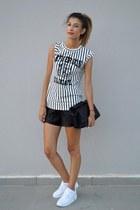 Sheinside blouse - airmax 90 nike sneakers