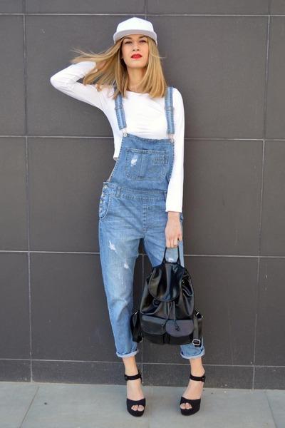 yeswalker bag - asos heels