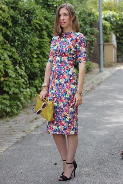 bubble gum Zara dress