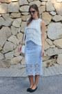 Lace-zara-skirt