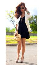 vintage blazer - tutu skirt