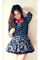 polka dot Zara blouse