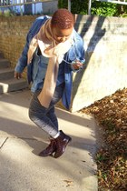 Urban Outfitters shoes - Thrift Store shirt - Forever 21 scarf - Charlotte Russe