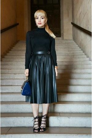 Zara skirt - Topshop sweater