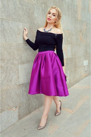 Chicwish skirt - Mossimo heels