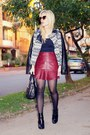 Zara-boots-studio-f-jacket-chicwish-glasses-studio-f-skirt-skirt