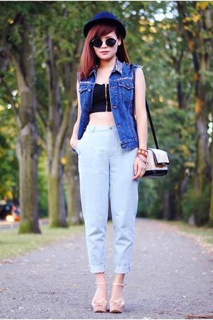 Jean Jacket Vest Outfit