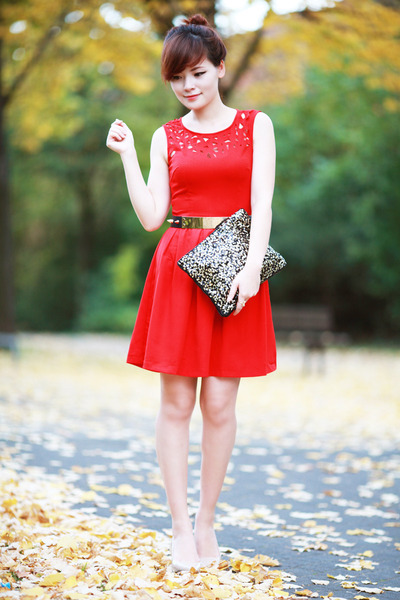 red red Kristinescollection dress