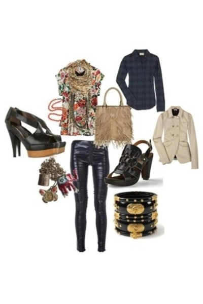 Marni shoes - Miu Miu jacket - La Garconne blouse - Elizabeth and James shirt -