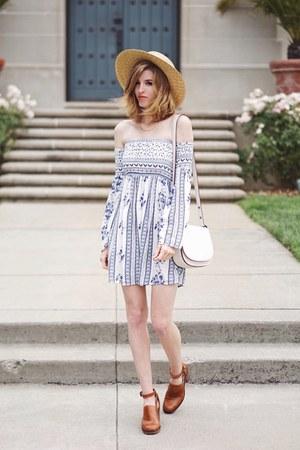 white HarperLange dress
