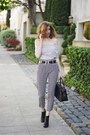 Black-madewell-boots-black-madewell-bag-white-h-m-pants