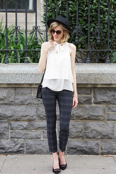 navy Zara pants