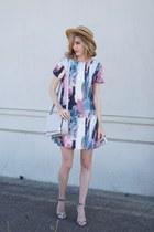 white Target dress