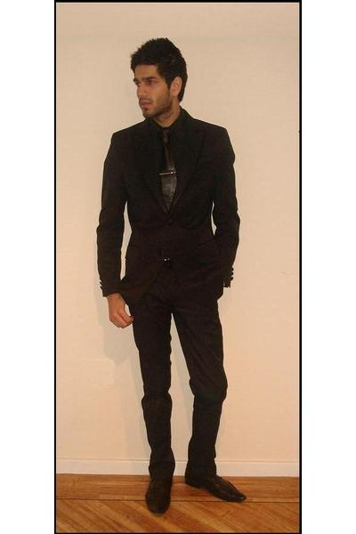 Black Tux Suit - How to Wear and Where to Buy | Chictopia