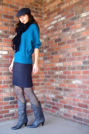 Peacock Print tights