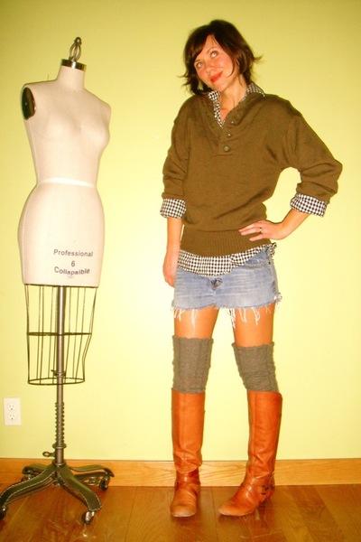 orange Miss Sixty boots
