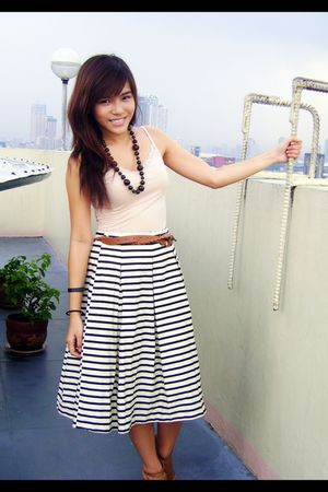 People are People belt - Charles and Keith shoes - skirt