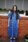 Blue-nike-shoes-blue-verner-dress