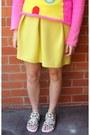 Hot-pink-walter-van-beirendonck-sweater-light-pink-sophia-webster-sandals