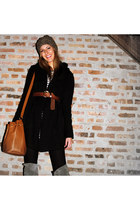 Dolce Vita boots - H&M dress - Target hat - vince sweater - madewell leggings -