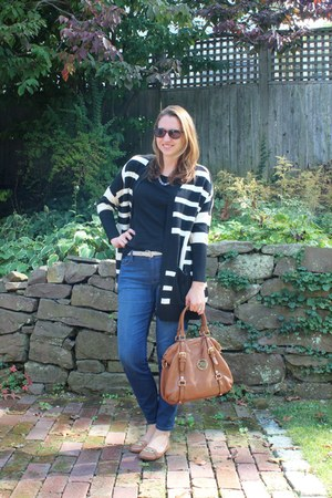 kohls sweater - leather satchel Michael Kors bag