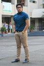 Jeans-zara-jeans-polka-dots-memo-shirt