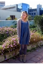 Zara - pull&bear - H&M stockings - random brand boots - H&M shirt - from the mar