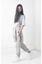 nike sneakers - cotton Front Row Shop pants