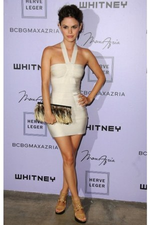 body cotton HERVER LEGER dress