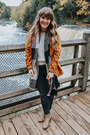 Tan-modcloth-boots-burnt-orange-old-navy-coat-black-h-m-jeans