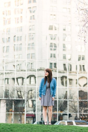 blue JCPenney jacket