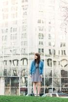 blue JCPenney jacket