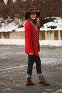 Brown-vintage-crown-boots-blue-modcloth-jeans-brown-sosie-hat