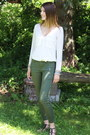 Zara-blouse-forever21-pants-joe-fresh-sandals