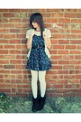 Boots-forever-21-dress-american-eagle-tights-forever-21-cardigan