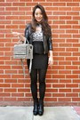 Black-asos-boots-black-ann-taylor-jacket-black-solid-talbots-tights