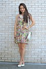Ruby-red-oasap-dress-white-lucymint-bag