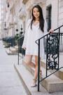 White-little-chaser-dress-ivory-embellished-badgley-mischka-sandals