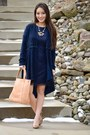 Navy-lace-madewell-dress-neutral-handbag-heaven-bag-tan-kate-spade-heels