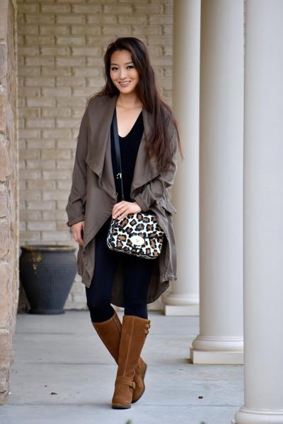 black Express sweater - tawny Cat Footwear boots