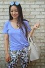 Beige-pauls-boutique-bag-violet-v-neck-meundies-t-shirt