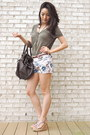 Dark-brown-marc-by-marc-jacobs-bag-light-brown-patterned-madewell-shorts