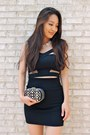Black-chunky-platform-deb-shoes-black-studded-clutch-handbag-heaven-bag
