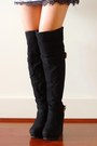 Black-over-the-knee-amiclubwear-boots-heather-gray-sweater-deb-dress
