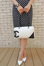 Black-forever-21-skirt-black-chicnova-purse-white-chanel-bag
