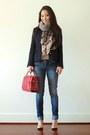 Navy-marc-jacobs-coat-navy-bongo-jeans-red-faux-crocadile-handbag-heaven-bag