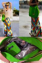 Chartreuse-nylon-kate-spade-bag