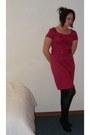 Hot-pink-h-m-dress