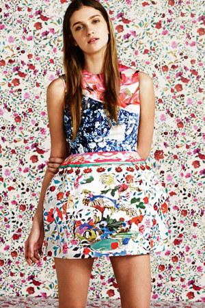 Mary Katrantzou x TOPSHOP dress